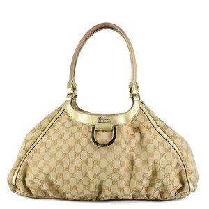 GUCCI GG Monogram D-Ring Shopping Bag